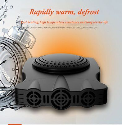 12V 150W Auto Car Heater Portable Heating Fan Windshield Defroster Demister PO