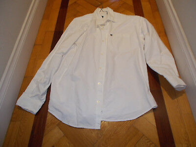 Timberland Long Sleeve Mens Shirt XL White