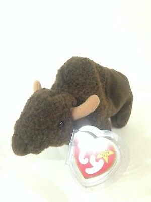 Ty Beanie Baby Roam The Buffalo 6 5 Inch Mwmts Stuffed Animal