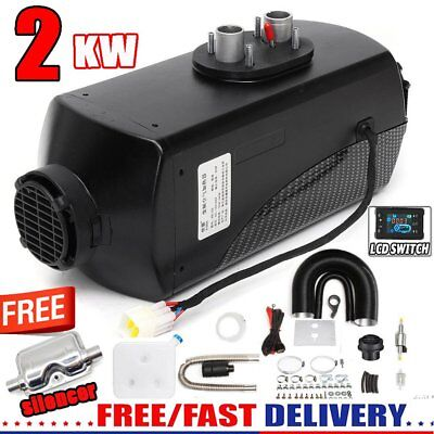 2KW Air Diesel Heater Planar 2000W 12V For Trucks Motor-Homes Boats Bus CAN PO