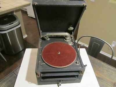 Antique Columbia Phonograph Model 150 1920's AS FOUND PARTS REPAIR Vintage