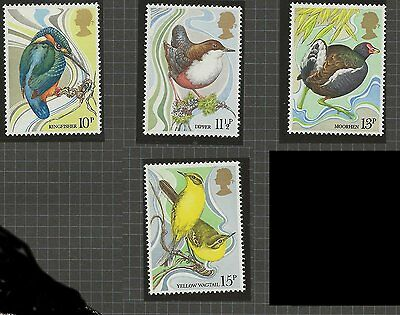 January 1980; Great Britain Mint Stamps; Centenary of Wild Bird Protection