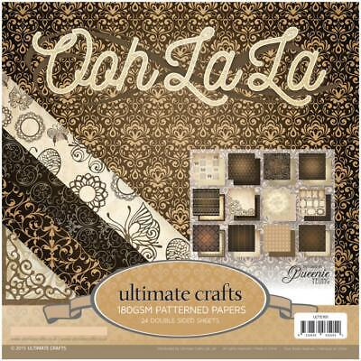 6x6 Paper Pad 24 Double-Sided Sheets -  Ooh La La