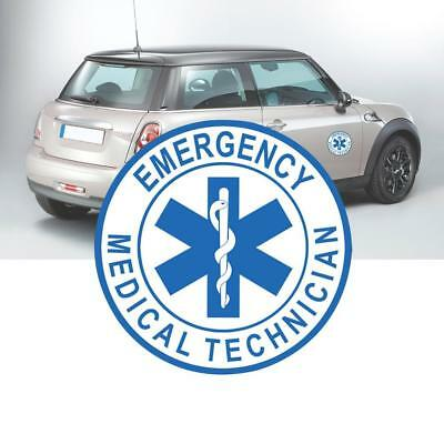 EMT Emergency Medical Technician Sticker Die Cut Decals 1010CM