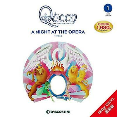 Queen LP Record Collection A Night At The Opera 180g Vinyl Deagostini Japan F/S