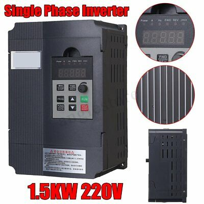 1.5KW 220V Single Phase Input To 3 Phase Output Variable Frequency Converter GA