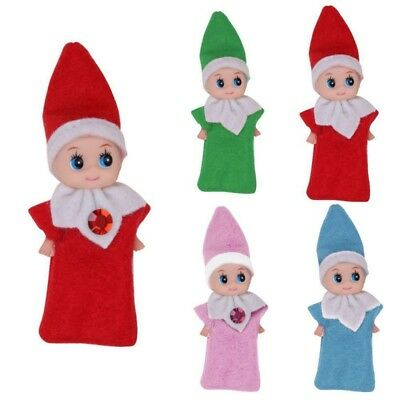 Elf Baby Plush Toy Baby Elf Christmas Elf On The Shelf Plush Dolls Decor Gifts