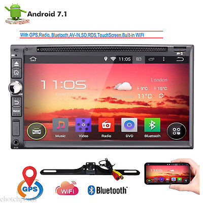 """CAM+In Dash Android 7.1 4G WIFI 7"""" 2DIN Car Radio Stereo Player GPS Navigation"""