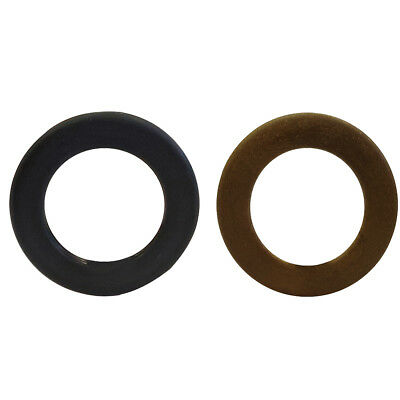 48mm Womens Round Wooden O Rings Buckles for Ladies Webbing Leather Crafts DIY
