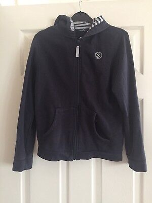 Boys Navy Blue Hoodie Aged 12 Years Next
