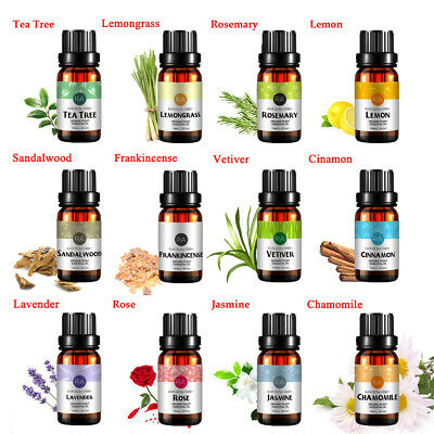 RA Top Essential Oil Gift Box Best 15 Aromatherapy Oil Therapeutic Grade 10 mL