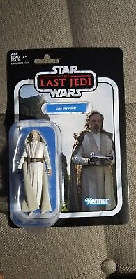 Star Wars The Vintage Collection Jedi Master Luke Skywalker 3 3/4-Inch
