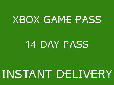 Xbox Game Pass 14 Days - INSTANT DELIVERY - DIGITAL CODE