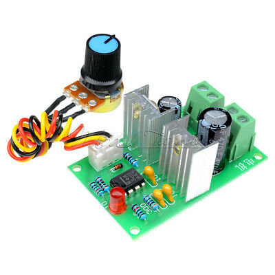 3A Pulse Width PWM DC Motor Regulator Speed Control Switch 12V 24V DC 12V-36V