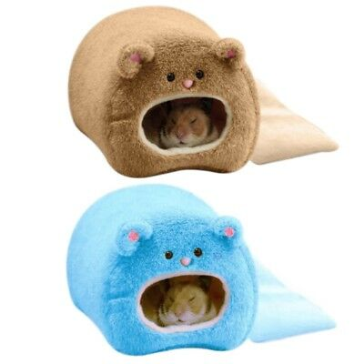 Warm Animal Bed Pet Hammock Hamster Rat Guinea Pig House Nest Pad For Cage cute