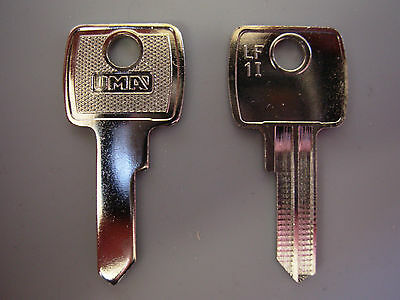 Replacement Filing cabinet Keys cut to code - office world,vickers,ronis,link