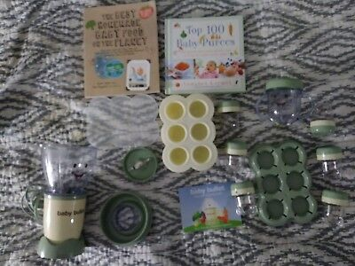 Magic Bullet Baby Bullet Baby Care System includes bullet, containers & 2 books