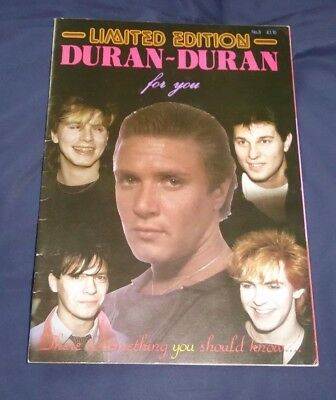 Duran Duran For You Limited Edition Magazine Issue 3