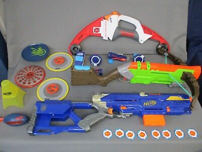3 x NERF/ X-Shot Bug Toys with Lots of Accessories & Extras