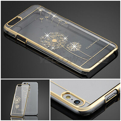NEW Luxury Crystal Rhinestone Diamond Bling Hard Case Cover For iPhone 6 6s 4.7