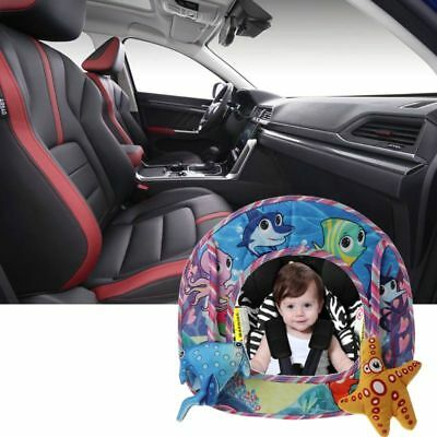 Baby Kids Toddler Rear Facing Safety Car Back Seat View Mirror Infant Monitor