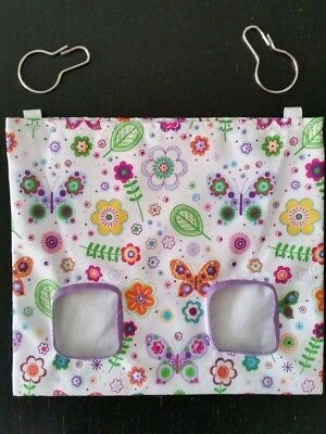 Fabric Hay bag butterfly  - guinea pig, bunny