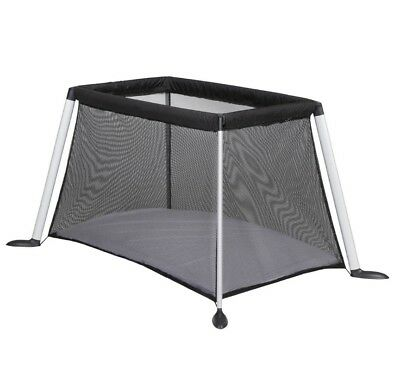 Phil & Teds Traveller (Black) Portable Baby Travel Cot, Used, in Great Condition