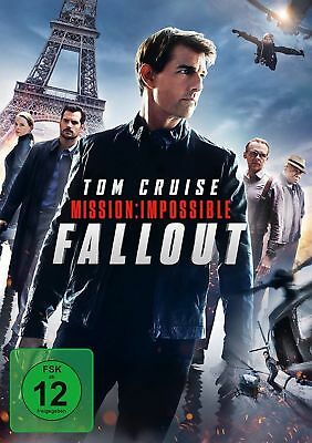 Mission: Impossible 6 - Fallout - (Tom Cruise) - DVD NEU - Film 2018