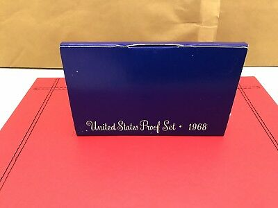 KENNEDY Half Dollar Proof Coin Set 1968