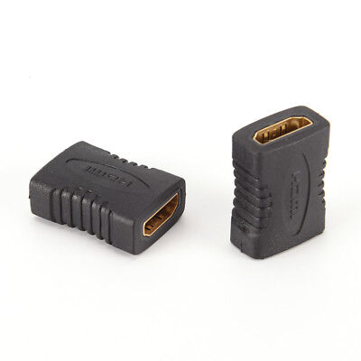 2x New HDMI Female to Female Coupler Extender Adapter Connector F/F for HDTV HD