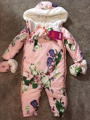 Brand New Ted Baker Snowsuit 2018 This Season 18-24 Months