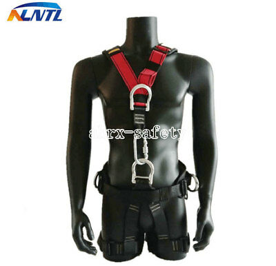 Detachable Fall Protection 5 Points Adjustable Full Body Aerial Safety Harness