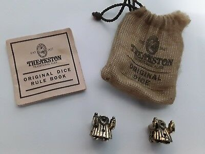 Theakston Brewery Traditional Ales Original Dice in sack with rules pamphlet