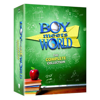Boy Meets World: The Complete Collection Seaseon 1-7 (DVD, 2013, 22-Disc Set)