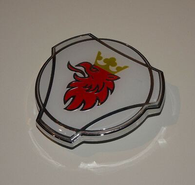 New White Scania Front Grill Grille Truck / Lorry Show Cab Badge Emblem 1401610