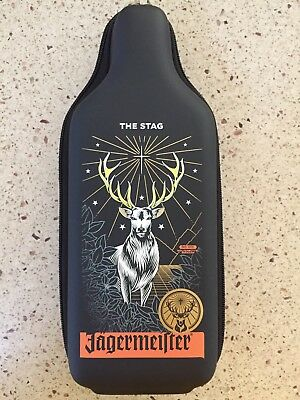 Jagermeister The Stag Bottle Insulated Zipper Hard Case