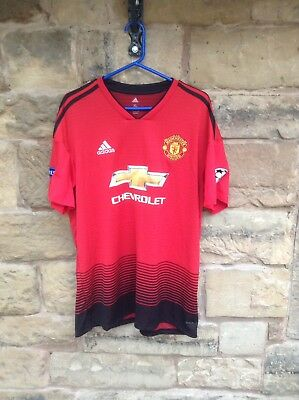 Brand New With Tags Manchester United FC 2018/19 Adidas CL Home Shirt XL