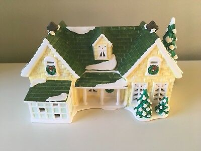 Dept 56 Snow Village Collectile Nantucket Renovation House Limited Edition 1993