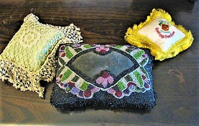Three Collectable, Vintage Pin Cushions