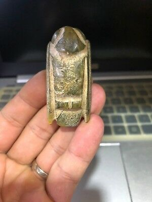 Ancient Chinese Hongshan Culture old Jade swallow bird Amulet Pendant