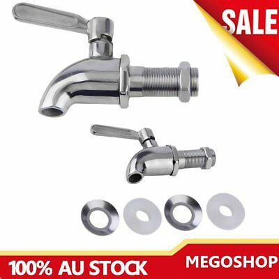 Stainless Steel Beverage Drink Dispenser Wine Barrel Spigot/Faucet/Tap LY