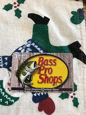 $50 Bass Pro Physical Gift Card - FREE Standard 1st Class Mail Delivery