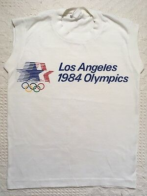 45dfcec4f61 Vintage Los Angeles Olympic Summer Games 1984 T-Shirt Kids Boys Youth Size  Small