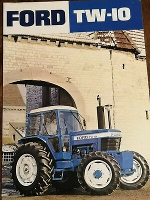 Ford TW10 Tractor Brochure