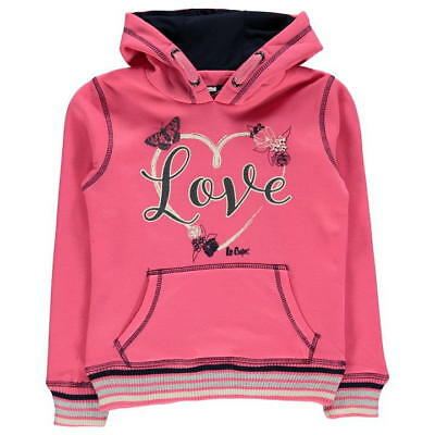 LEE COOPER Sweat Pull a Capuche Fille 13 ans neuf, original