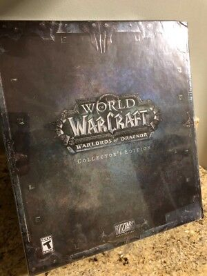 World Of Warcraft Warlords of Draenor Collectors Edition Blizzard Sealed new