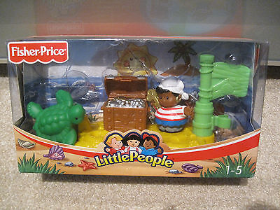 Little People Fisher Price Piraten Floß komplett und mit OVP Karton