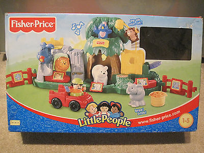 Little People Fisher Price ZOO komplett und mit OVP Karton