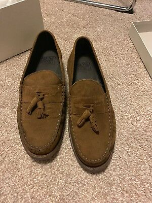 Men's Brown Suede Loafer Size 9 *worn once*