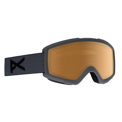 Anon Helix 2.0 Stealth 2018 Ski/Snowboard Goggles Amber Lens